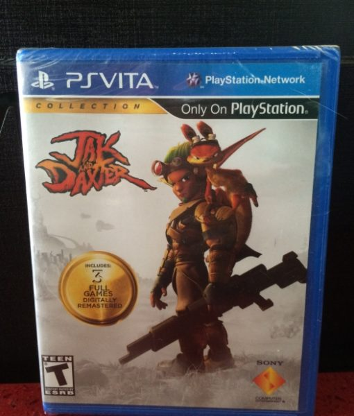 PS Vita Jak and Daxter Collection game