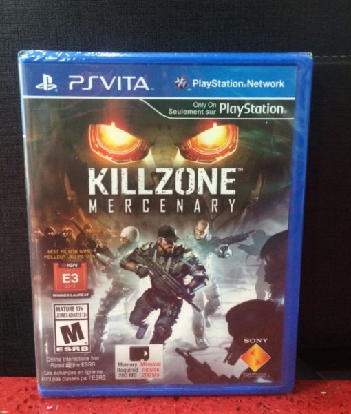 PS Vita Killzone Mercenary game
