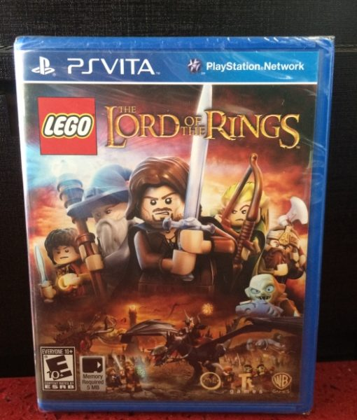 PS Vita LEGO Lords of the Rings game