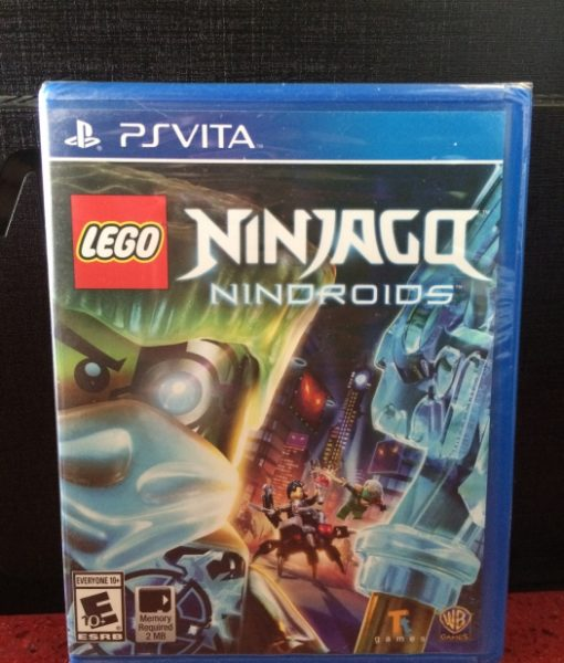 PS Vita LEGO Ninjago Nindroids game