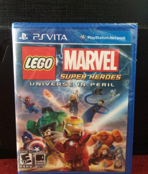PS Vita Lego Marvel Super Heroes game