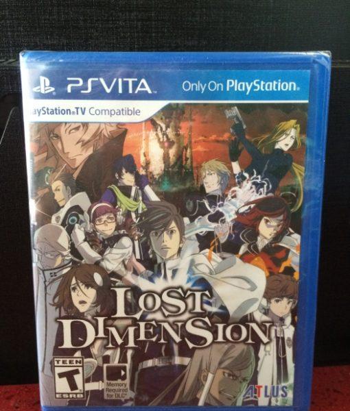 PS Vita Lost Dimension game