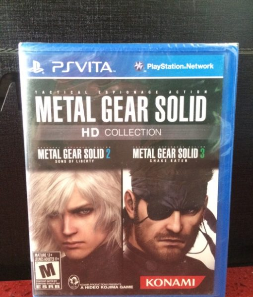 PS Vita Metal Gear Solid HD Collection game