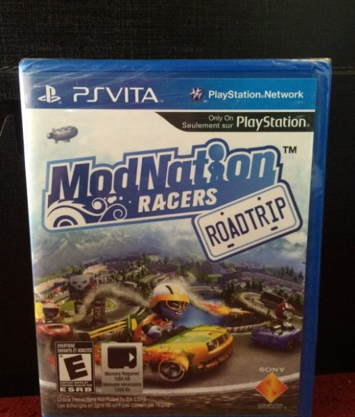 PS Vita ModNation Racers game
