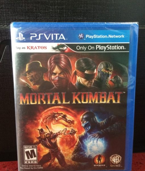 PS Vita Mortal Kombat game