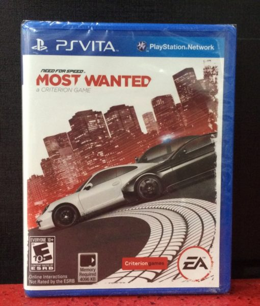 PS Vita Need for Speed Most Wanted 2 game