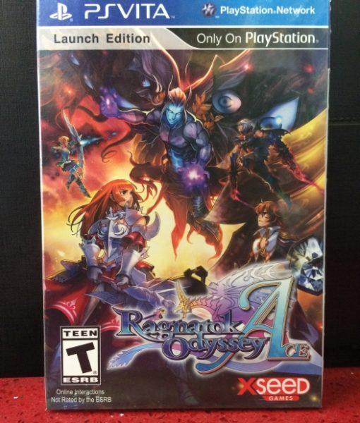 PS Vita Ragnarok Odyssey Ace game
