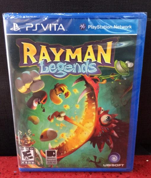 PS Vita Rayman Legends game
