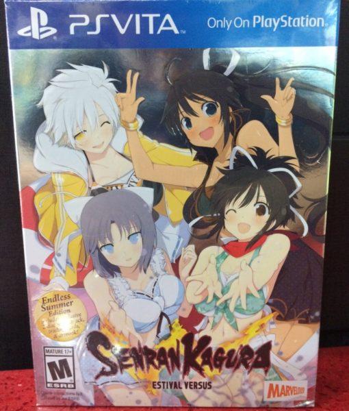 PS Vita Senran Kagura Estival Versus game