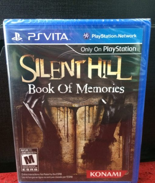 PS Vita Silent Hill Book Memories game
