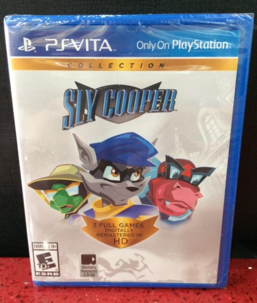 PS Vita Sly Cooper Collection game