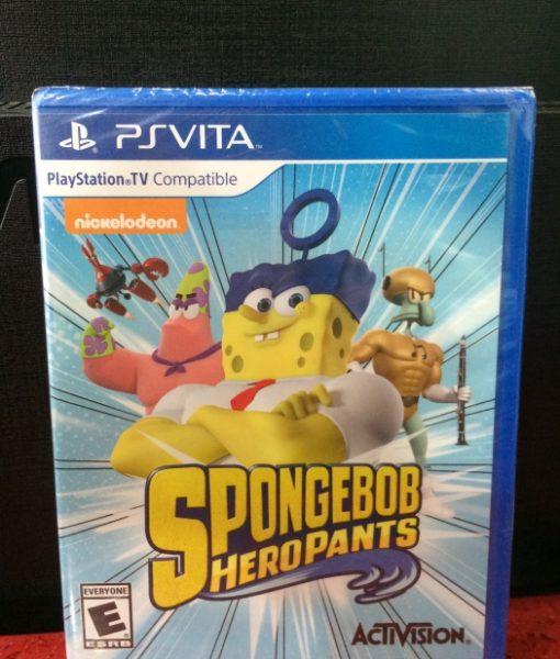 PS Vita Spongebob Hero Pants game