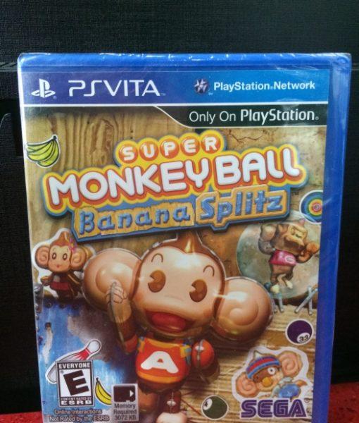 PS Vita Super Monkey Ball Banana Splitz game
