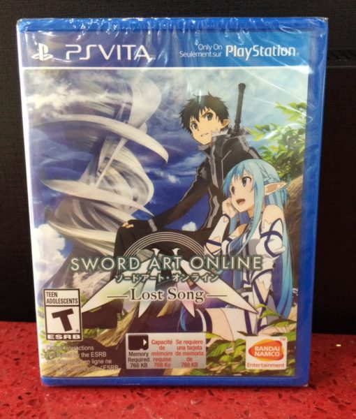 PS Vita Sword Art Online Lost Song game