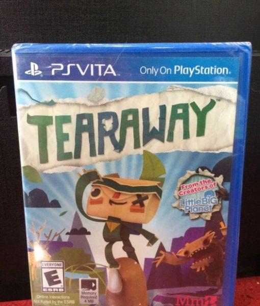 PS Vita Tearaway game