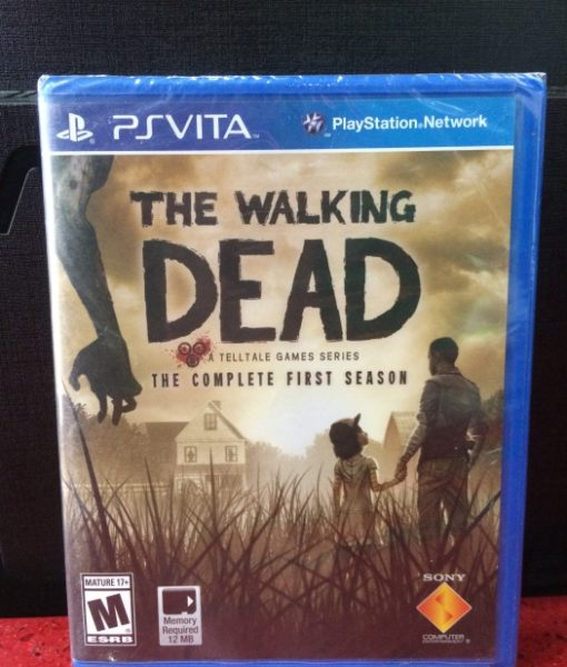 PS Vita The Walking Dead First Season game