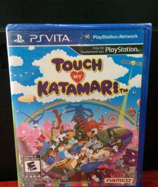PS Vita Touch my Katamari game