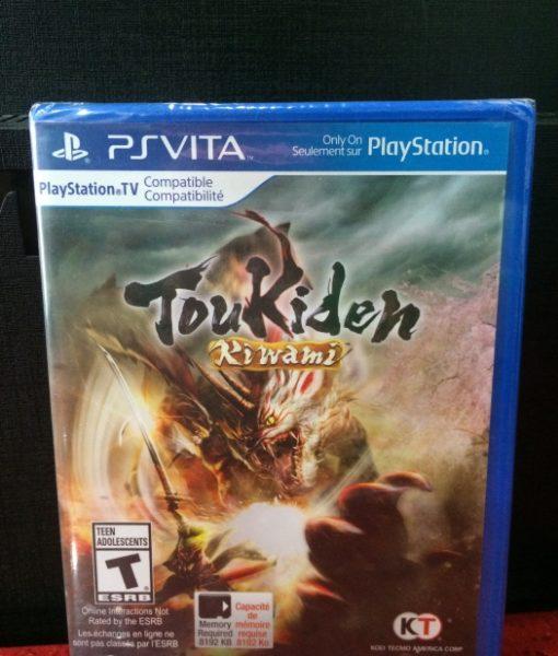 PS Vita Toukiden Kiwami game