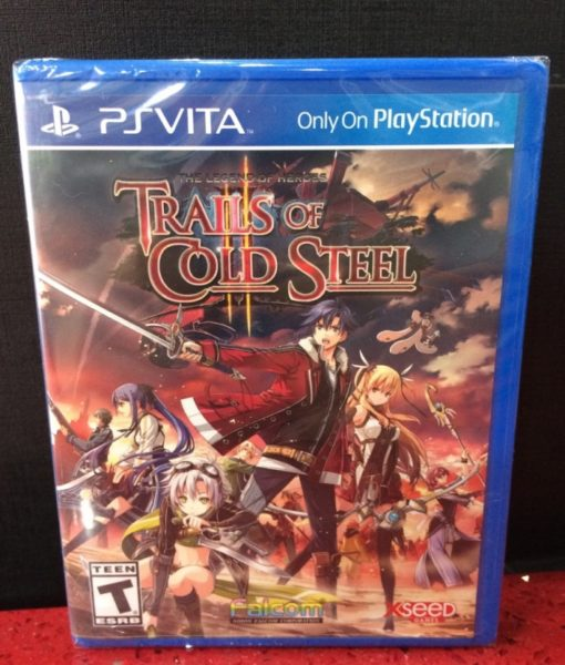 PS Vita Trails of Cold Steel II game