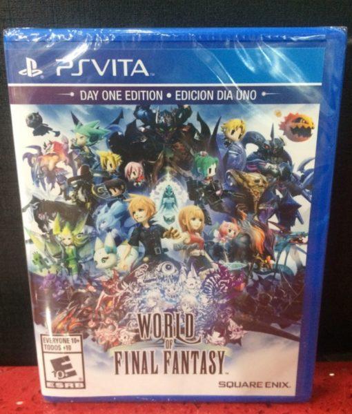PS Vita World of Final Fantasy game