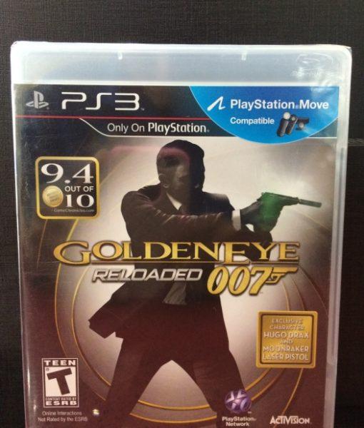 PS3 007 GoldenEye Reloaded game