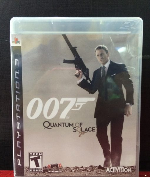 PS3 007 Quantum of Solace game