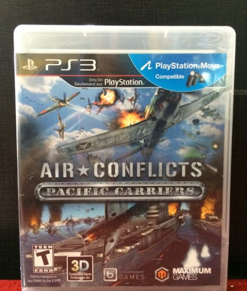 PS3 Air Conflicts Pacific Carriers game