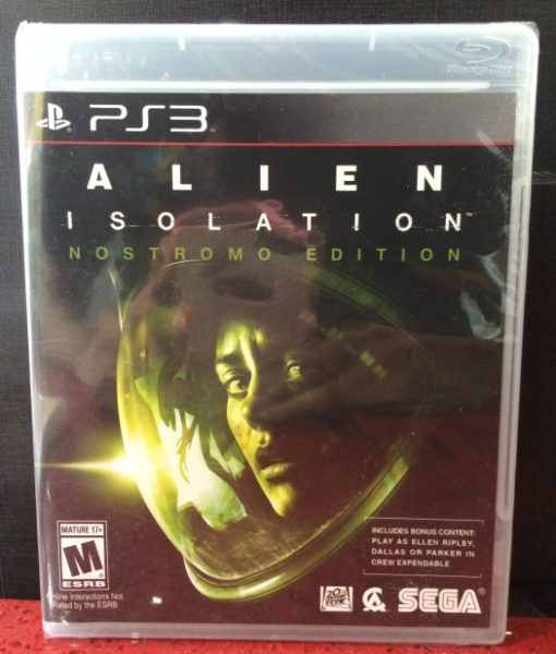 PS3 Alien Isolation game