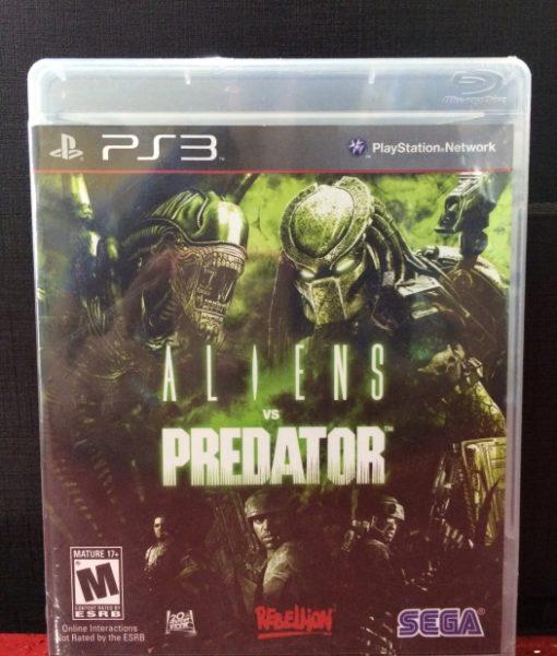 PS3 Aliens vs Predator game