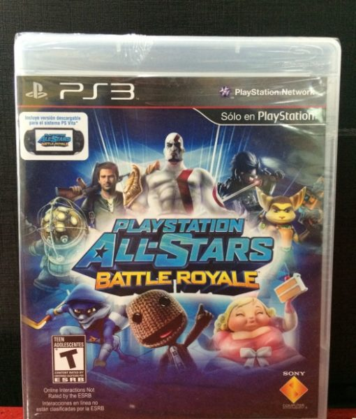 PS3 All-Star Royal Battle game