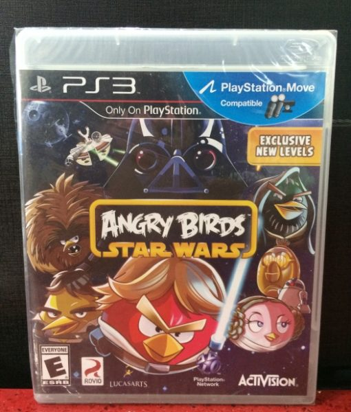 PS3 Angry Birds Star Wars game