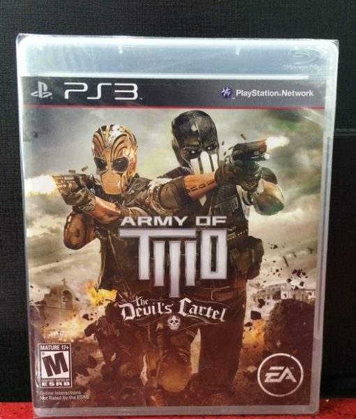 PS3 Army of Two Devils Cartel game