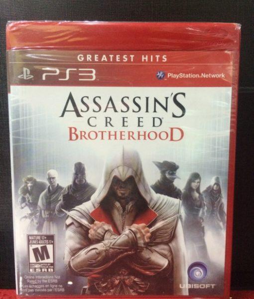 PS3 Assassins Creed Brotherhood game
