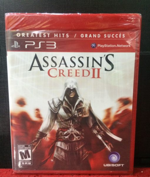 PS3 Assassins Creed II game