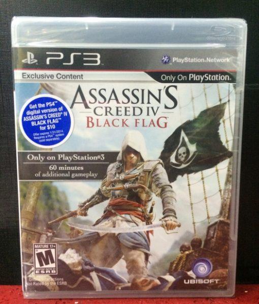 PS3 Assassins Creed IV Black Flag game