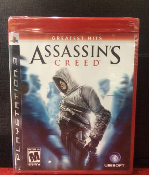 PS3 Assassins Creed game