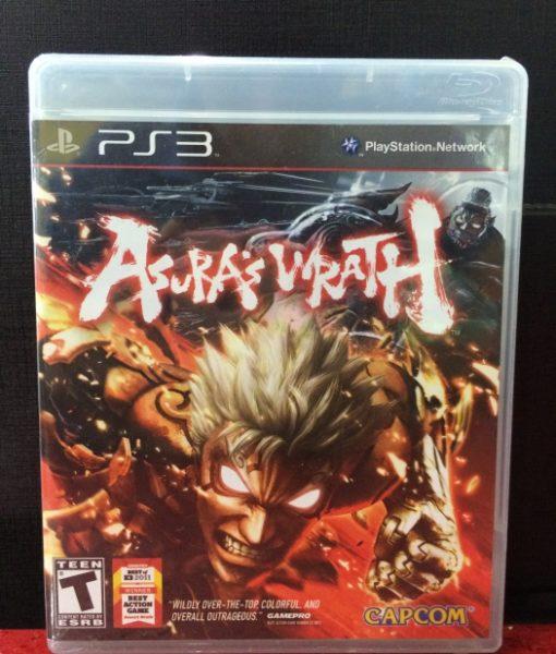 PS3 Asuras Wrath game