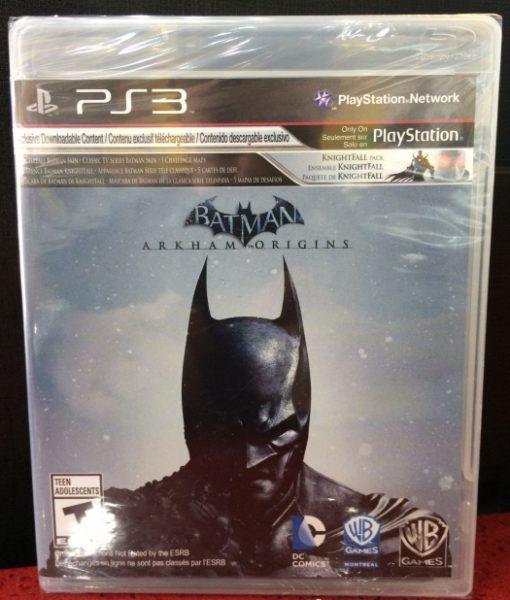 PS3 Batman Arkham Origins game
