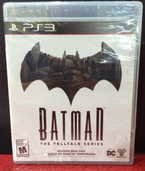 PS3 Batman The Telltale Series game