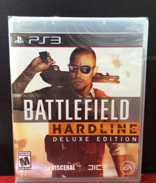 PS3 BattleField Hardline Deluxe game