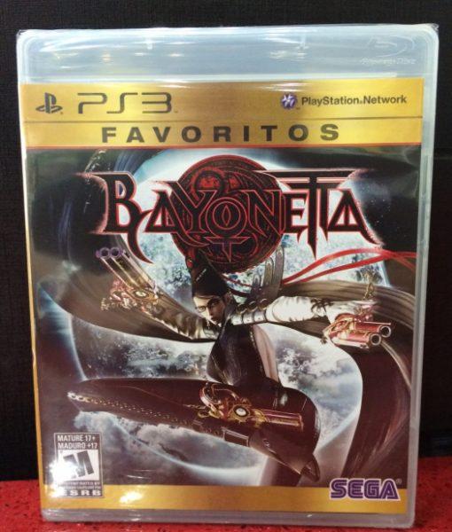 PS3 Bayonetta game