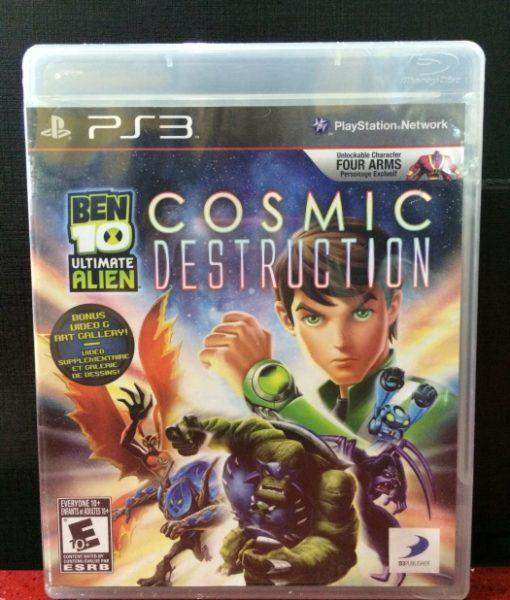 PS3 Ben 10 Cosmic Destruction game