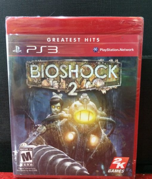 PS3 BioShock 2 game