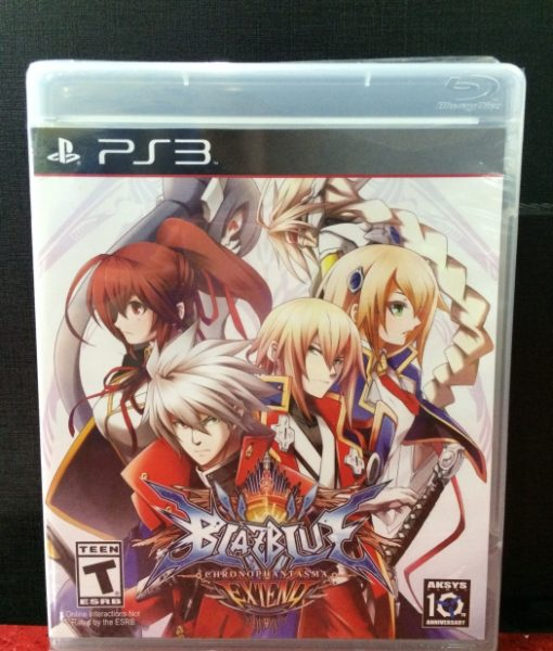 PS3 BlazBlue ChronoPhantasma EXTEND game
