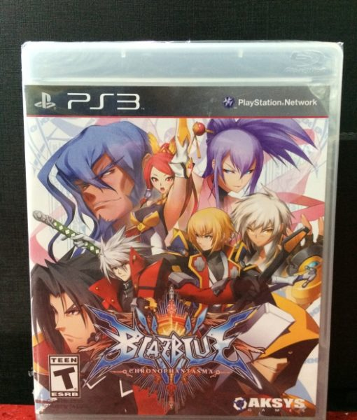 PS3 BlazBlue ChronoPhantasma game