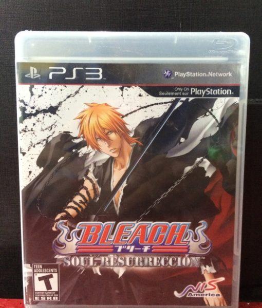 PS3 Bleach game