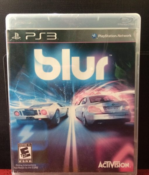 PS3 Blur game