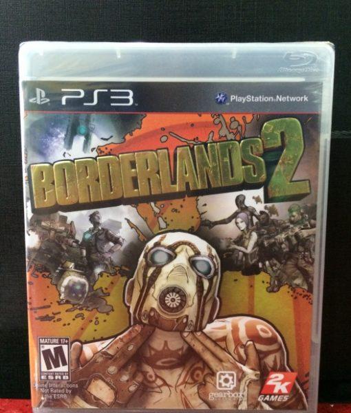 PS3 BorderLands 2 game