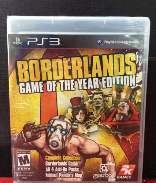 PS3 BorderLands game