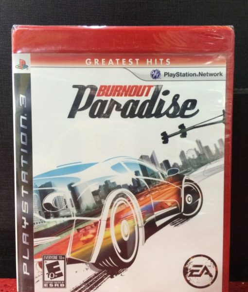 PS3 Burnout Paradise game